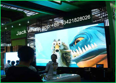 Super Light P6 Mini Led Display Advertising Transparent Video Wall CE / UL