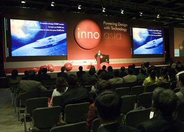 Cina Pixel Pitch 6mm RGB Indoor Penggunaan Led Conference Displays, Big Led Display Panel pemasok