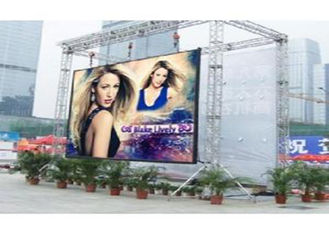 Cina P4.81 500 * 500mm Clear Led Panel Outdoor Definisi tinggi Die Cast Aluminium pemasok
