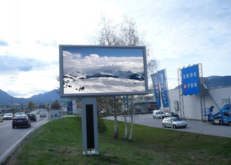 Cina 1/4 Sacn Smd Giant Outdoor Full Color Led Display Video Wall 8mm Pixel Pitch pemasok