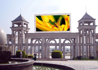 Cina Highest Effective LED Advertising Screen , Outdoor LED Video Display 8mm Pixel Pitch pemasok