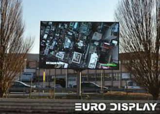 Cina High Brightness Outdoor Full Color LED Display Wall Screen For Commercial Advertising pemasok