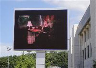 Cina Weatherproof Outdoor SMD Led Screen For Advertising  110-220v Rgb Led Panel Energy Saving pemasok