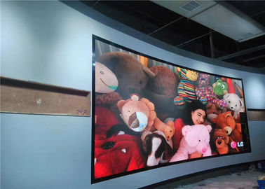 Cina Advertisement Lightweight Front Maintenance Led Display Video Wall Iron Frame High Definition pemasok