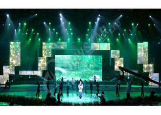 Cina SMD High Definition Rental Led Displays , Slim Led Video Screen Rental Best Visualization pemasok