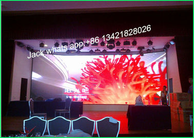 Cina SMD3528 Indoor Front Maintenance Led Display Billboard Advertising High Refresh Rate P6 pemasok