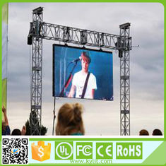 Full Color Led Display Screen Hire , Outside Led Screen 1/13 Scan Driving Method