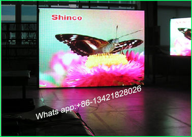 Cina P5 Rental Stage Background Layar LED, Indoor LED Video Display Untuk Iklan Distributor