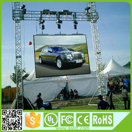 Cina Rental Outdoor Digital Led Screen Aluminium Die Casting Waterproof Cabinet Terbuka Untuk Sewa Distributor