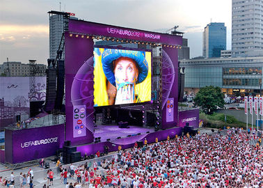 Cina China High Definition P4.81 Outdoor Rental LED Display Portable LED Video Screen wall pabrik