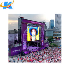 Cina SMD Full Color Rental Luar Led Screen 4mm Pixel Pitch Aluminium Profil Kabinet Distributor