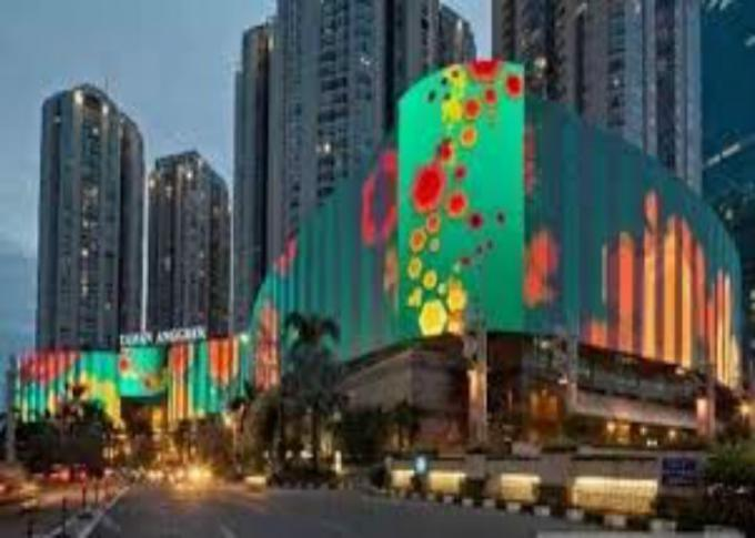High Brightness Outdoor Full Color LED Display Wall Screen For Commercial Advertising