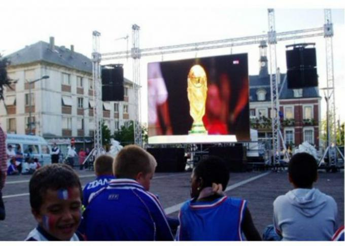 Ultra Thin Energy Saving HD Led Display / Large Led Screen Hire Wide Viewing Angle