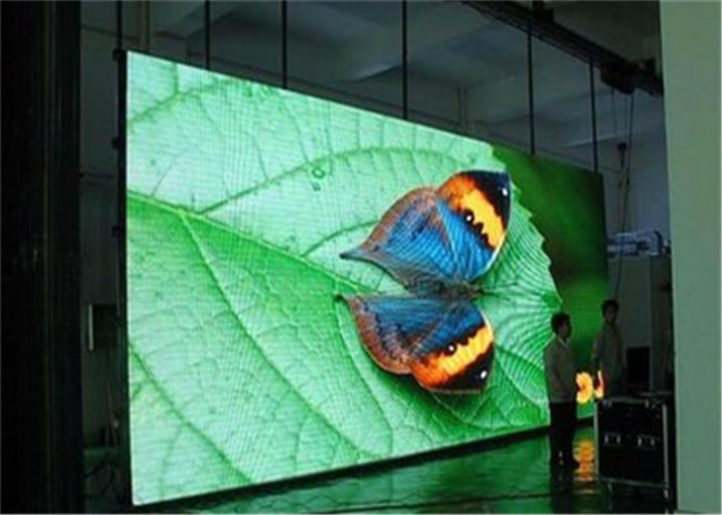 Advertisement Lightweight Front Maintenance Led Display Video Wall Iron Frame High Definition